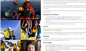 Какие актуальные вакансии в Антарктиде?