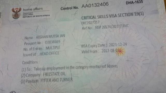 Работа и вакансии в Африке для русских и украинцев