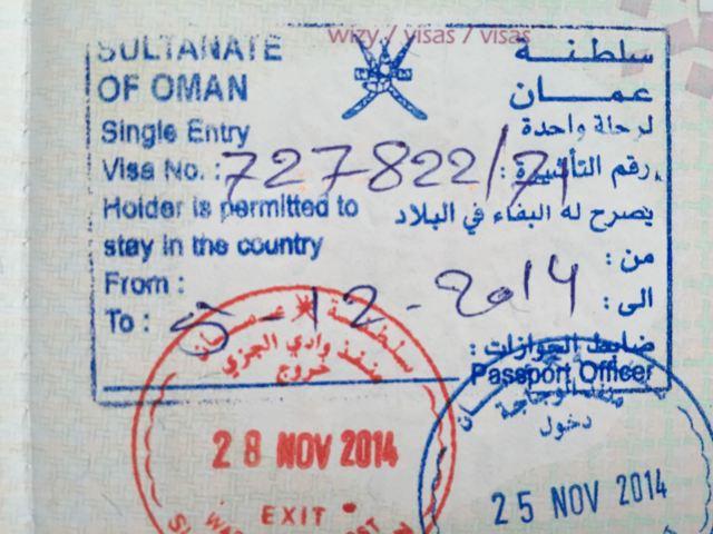 Виза в Оман для граждан РФ: как ее получить самостоятельно
