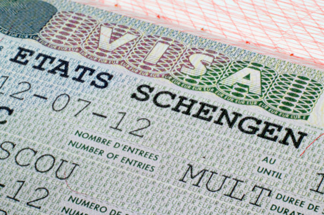 Образец заполнения заявления для оформления шенгенской визы в Германию